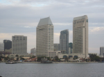 San Diego Harbor Skyline